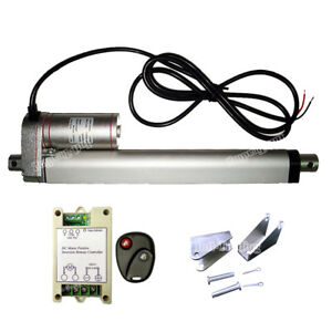 Linear Actuator 8 Stroke 12v Dc Motor W Remote Control For Auto Lifting System