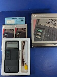 New Fluke 51 K j Thermocouple Thermometer See Details