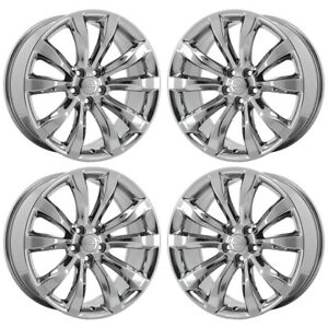 20 Chrysler 300 Limited Pvd Chrome Wheels Rims Factory Oem 2540 Exchange