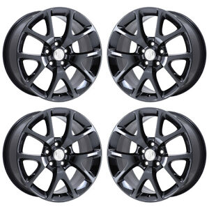 19 Buick Lacrosse Regal Black Chrome Wheels Rims Factory Oem 4108 Exchange