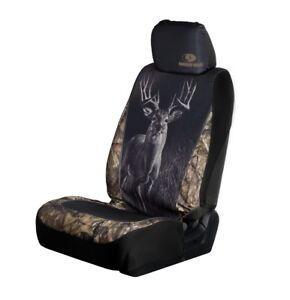 Mossy Oak Camo Universal Seat Cover Wildlife Buck Camouflage Auto Car Truck