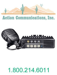 New Icom Ic f5011 51 Vhf 136 174 Mhz 50 Watt 8 Channel Two Way Radio
