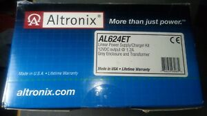 Altronix Al624et 12vdc 1 2amp Power Supply transformer enclosure New In Box