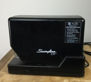 Swingline 270 Electric Stapler W Partial Staples Cartridge