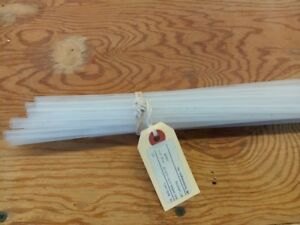Lot Of 15 4 Foot Clear 1 4 Heat Shrink Tubing Bhs 1 4cl 2 To 1 Ratio