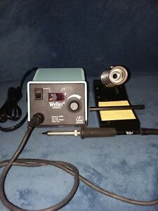 Weller Wesd51 Esd Safe Digital Soldering Station With Stand Temperature Display