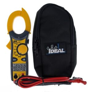 Ideal Clamp Meter Tester Non Contact Electrician Technician Tool 600 Amp Ac Ncv