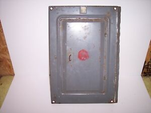 Square D Qo Used Load Center 20 Space 100 amp Main Indoor Panel Door Cover