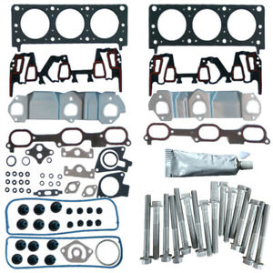 Cylinder Head Gasket Set W Bolts Kit For Buick Chevy Oldsmobile Pontiac 96 05