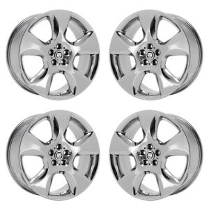 20 Jaguar Xf Volans Pvd Chrome Wheels Rims Factory Oem Set 59838 39 Exchange
