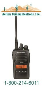 New Vertex standard Vx 264 Uhf 403 470 Mhz 5 Watt 128 Channel Two Way Radio