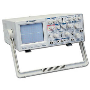 Bk Precision 2125c exd 30 Mhz Delayed Sweep Analog Oscilloscope 220v