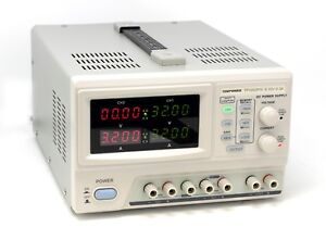 Tekpower Tp3003piii Programmable Dc Power Supply 0 30v At 0 3a Triple Outputs