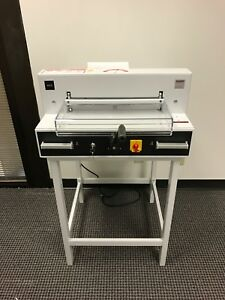Triumph 4315 Semi automatic Ream Paper Cutter 16 7 8 Used For 30 Days