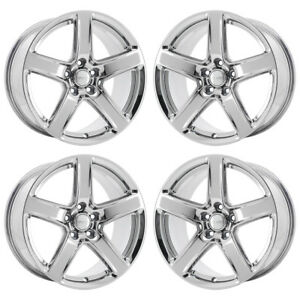 20 Jeep Grand Cherokee Srt Pvd Chrome Wheels Rims Factory Oem 9172 Exchange