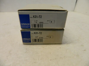 Omron K31 t2 Lot Of 2