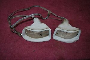 1963 Mercury Meteor Left And Right Park Light Assemblies Original