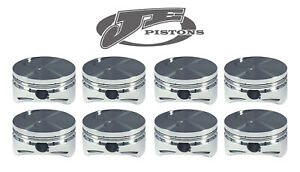 Je Pistons For Chevy 400 Small Block Flat Top 4 185 Bore 4 000 Stroke 207512