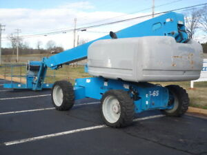 2011 Genie S65 65 Boom Lift 65ft Man Lift Manlift Straight Stick Boomlift Jib