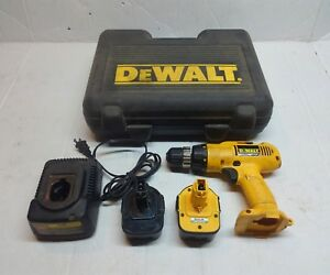 Dewalt Dw953 Cordless Drill With Two Batteries And Charger