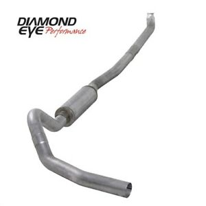 Diamond Eye K4114a Down Pipe back Exhaust System 01 07 Chevy gmc Duramax Diesel