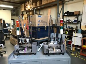 Set Of Two Multifeeder Mft 250 Friction Feeders one Working Other For Parts