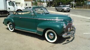 1941 Chevy Convertible 1935 1936 1937 1938 1939 1947 1948 1950 1953 1954