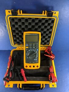 Fluke 189 Trms Multimeter Excellent Condition Screen Protector Case More