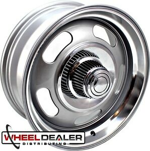 20x8 20x9 5 Rev Classic 107 Rally Wheels For Chevy Gmc 5 Lug C10 Sierra 5x5