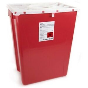 Mckesson Prevent Sharps Container 18 Gallon Red Case Of 7 great Deal