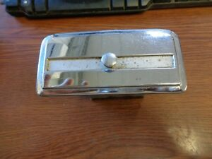 1951 1953 Hudson Dash Ash Tray Assembly Used Take Out Original Chrome