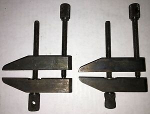 2 Starrett No 161 a Toolmakers Parallel Clamps As Pictured Free Shipping