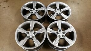 Factory Oem Ss Camaro 20 Wheels With Center Caps Oe Rs 2ss