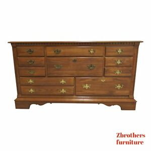 Pennsylvania House Oak Chippendale Chest Dresser