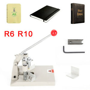 R6 R10 Manual Id Credit Pvc Paper Business Card Die Round Duty Corner Cutter New