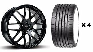18 B Dtm Alloy Wheels Tyres Fits Ford Focus Mondeo C S Max Edge Kuga 5x108