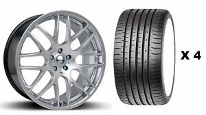 18 S Dtm Alloy Wheels Tyres Fits Ford Focus Mondeo C S Max Edge Kuga 5x108