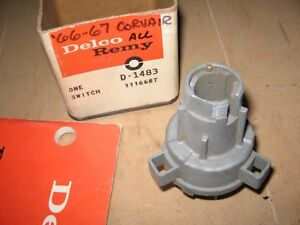 Chevy Corvair 1966 1967 Delco D 1483 1116687 Ignition Switch