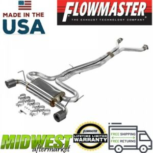 Flowmaster Fx Stainless Cat Back Exhaust System Fits 2003 08 Nissan 350z 3 5l V6