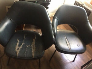 Eero Saarinen Knoll Vintage Executive Arm Chairs Eames Mid Century Each Or Set