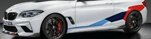 Bmw Oem Performance F87 M2 Coupe Tri Color Motorsports Stripe Decals Brand New