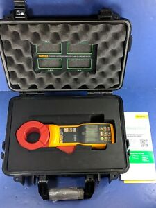 New Fluke 1630 2 Fc Earth Ground Clamp Case Accessories