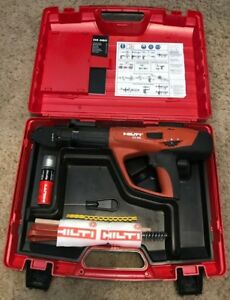 Hilti Dx 460 f8 Powder Actuated Fastening System New Model W Extras 305179