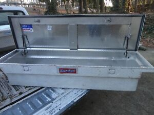 Duralast Betterbuilt 70 Full Size Truck Aluminum Crossbed Truck Tool Box No Key