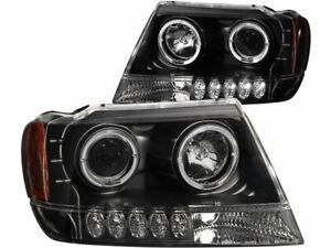 Headlight Set For 99 04 Jeep Grand Cherokee Bd73v5 Does Not Fit Cherokee Models