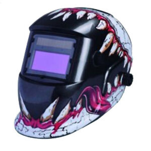 Welding Helmet Shield With Auto Color Changing Solar Power