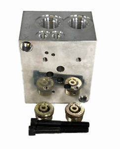 New Bailey Hydraulic Valves And Accessories D05 Sub plate Aluminum 220283