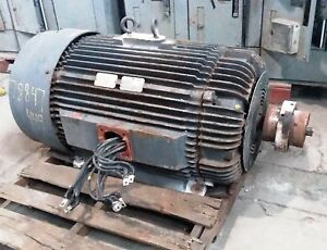 300 Hp Reliance Electric Motor 3600 Rpm 449ts Frame Tefc 460 V 1 15 S f
