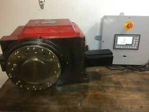 Fuji Sm14l Cnc Rotary Table Indexer 4th 5th Axis W new Control A c Servo Index