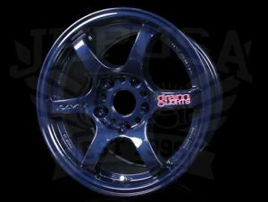 Rays Gram Lights 57dr Wheels Mag Blue 15x8 5x114 35 Civic Integra 5 Lug Type r